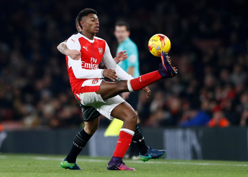 Arsenal have confirmed that midfielder Jeff Reine-Adelaide has completed a permanent move to Ligue 1 side Angers.