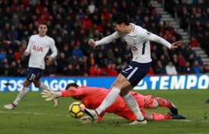 Tottenham forward Heung-Min Son has signed a new five-year contract to keep him at the club until the end of the 2023 season.