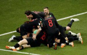 Croatia v England