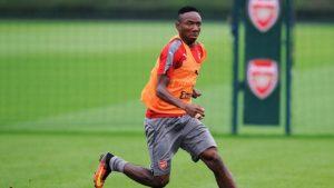 Arsenal midfielder Kelechi Nwakali will spend next season on loan at Porto, the club has confirmed.