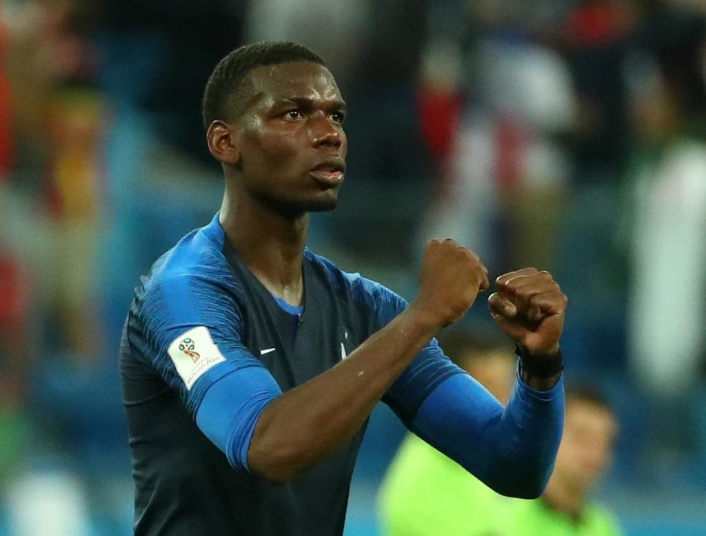 France coach Didier Deschamps feels Paul Pogba was a role model for the younger team members during their World Cup triumph.