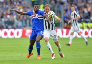 Duvan Zapata says he made the switch to Atalanta because Sampdoria did 'nothing to hold on to me'.