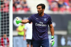 Gianluigi Buffon insists he is not guaranteed to be Paris-Saint Germain's first-choice goalkeeper but he is looking forward to the challenge.
