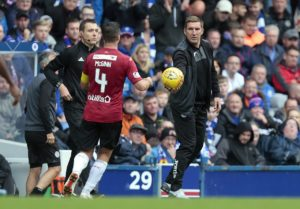 St Mirren manager Alan Stubbs has turned his attentions elsewhere after missing out on Kenny Miller.
