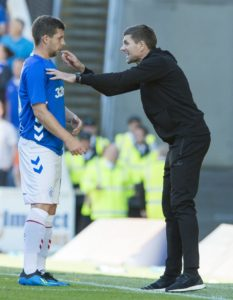 Jon Flanagan insists he will relish the competition from Borna Barisic after both played in Rangers' 2-0 home win over Dundee.