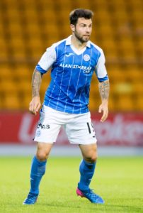 Richard Foster makes a welcome return from suspension for St Johnstone as they host Hibernian on Sunday.