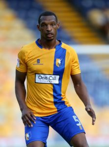Captain Krystian Pearce has thanked the Mansfield's supporters club after an embarrassing mishap with his player of the season trophy.