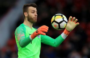 Angus Gunn believes Southampton is the perfect place for him to develop as a goalkeeper.