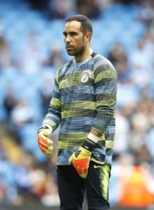 Manchester City goalkeeper Claudio Bravo is facing a lengthy spell out after suffering an Achilles tendon injury in training.