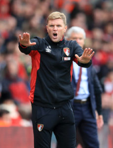 Bournemouth boss Eddie Howe says he expects Jack Simpson to remain with the Cherries despite links with Rangers.