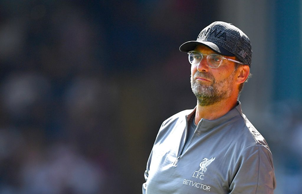 Liverpool boss Jurgen Klopp is sweating over the fitness of five players ahead of Sunday's Premier League opener at home to West Ham.
