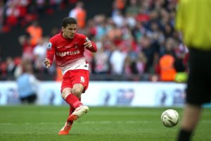 MK Dons will be without Mathieu Baudry for the home clash with Grimsby.