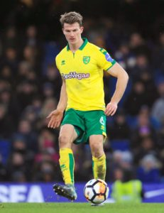 A fluke goal from defender Christoph Zimmerman helped Norwich to a hard-fought 3-1 win over Stevenage in the first round of the Carabao Cup.