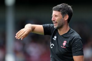 Danny Cowley praised team player Matt Green after the striker capped Lincoln's 4-1 victory over Swindon with a late goal and assist.