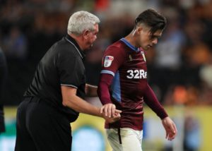 Steve Bruce knows Aston Villa have a battle on their hands to keep playmaker Jack Grealish at the club beyond Thursday's transfer deadline.