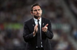 Derby manager Frank Lampard would relish a Carabao Cup reunion with Chelsea after his side's 4-0 demolition of Hull.