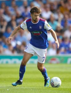 Ipswich winger Gwion Edwards should be available for the Sky Bet Championship match against Aston Villa.