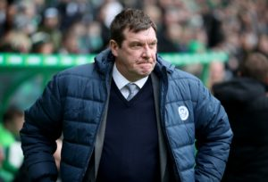 Tommy Wright has demanded an improved performance from his players when they come up against Hibernian on Sunday.