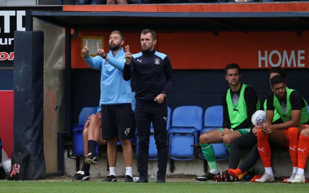 Luton boss Nathan Jones felt his side were worthy of a point thanks to their second-half display in the 1-1 draw with Sunderland.