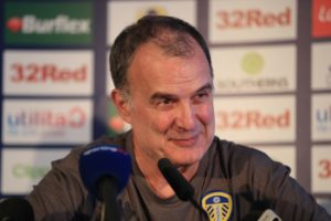 Marcelo Bielsa enjoyed a dream start to life as Leeds head coach with a dominant 3-1 win over Sky Bet Championship favourites Stoke at Elland Road.