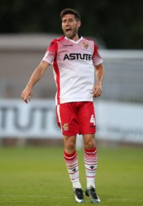 Morecambe remain rooted to the bottom of the Sky Bet League Two table after losing 1-0 to Stevenage at the Lamex Stadium.