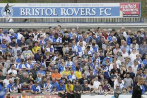 Bristol Rovers have launched an investigation into how clubhouse televisions showed adult channelBabestation during Tuesday's Carabao Cup game