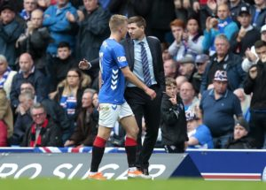 Steven Gerrard has warned his Rangers side they need to learn to behave after seeing them reduced to 10 men for the second week running.