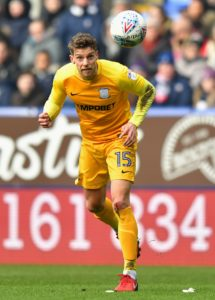 Preston defender Calum Woods has been ruled out of Saturday's Sky Bet Championship home clash with Stoke due to a hamstring injury.