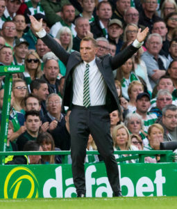 Brendan Rodgers has enjoyed unprecedented domestic success in his first two seasons as Celtic manager having won every competition available.