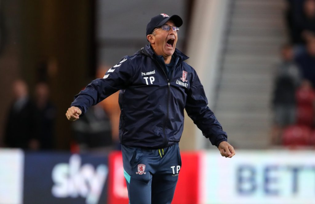 Tony Pulis set to make changes for Middlesbrough's cup clash