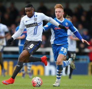 Kelvin Etuhu is expected to be fit for Carlisle's home clash with Port Vale.