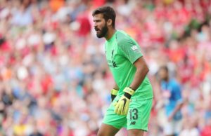 Roma boss Eusebio Di Francesco is pleased to have Robin Olsen in goal but admits Alisson will be a hard act to follow.