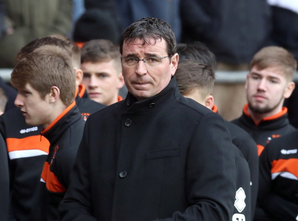 Managerless Blackpool could stick with the same side as they search for a new boss.
