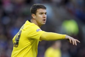Deadline day signing Anthony Gerrard is not fit to start for Carlisle in their home clash with Northampton but could appear on the bench.