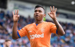 Alfredo Morelos proved he is invaluable to Rangers as his hat-trick sent Steven Gerrard's men into the Betfred Cup last eight with a 3-1 win at Kilmarnock.