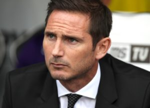 Leeds gatecrashed Frank Lampard's party with a powerful attacking display that swept Derby aside 4-1 at Pride Park.