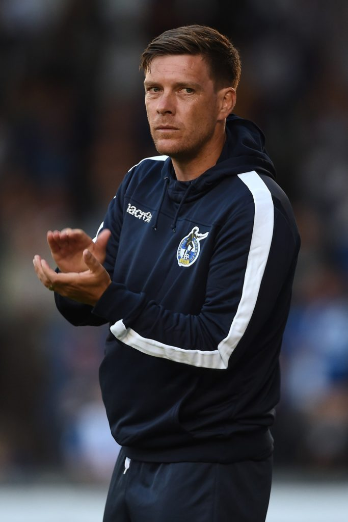 Bristol Rovers boss Darrell Clarke could name an unchanged team for the Sky Bet League One visit of Portsmouth.