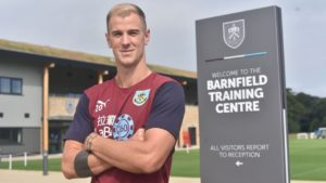 Burnley newboys Joe Hart and Ben Gibson could make their debuts in the Europa League clash with Istanbul Basaksehir.