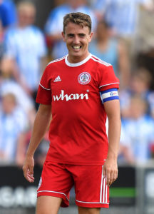Two goals from Sean McConville earned Accrington a first victory in the third tier of the Football League as they claimed a 2-1 win over Bristol Rovers