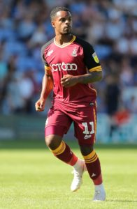 Bradford boss Michael Collins insisted it was business as usual after the club suspended midfielder Tyrell Robinson.