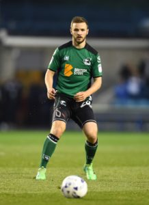 Jamie Ness will miss Plymouth's League One clash with Wycombe through suspension.