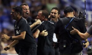 Derby manager Frank Lampard said that his side's dramatic 2-1 Championship victory at Reading was 'right up there' with his best moments.