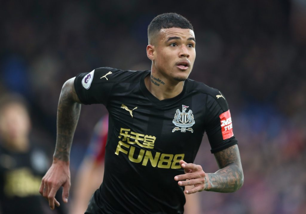 Newcastle winger Kenedy will not face retrospective action for his apparent kick in Saturday's 0-0 draw at Cardiff City.