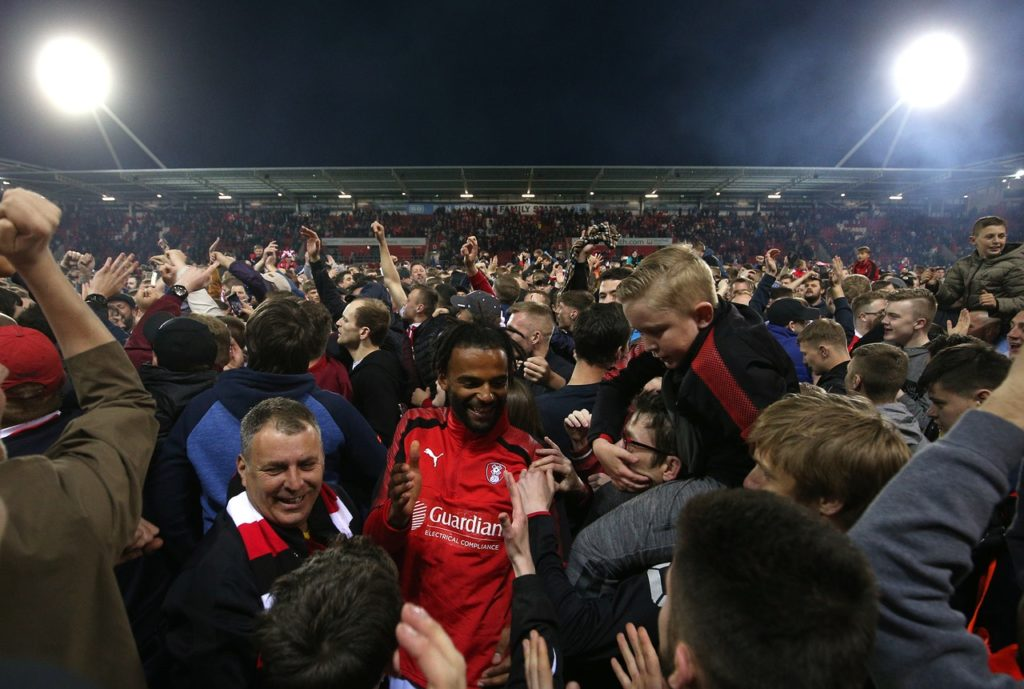 Michael Ihiekwe is hoping for regular football after joining Accrington on loan from Rotherham.