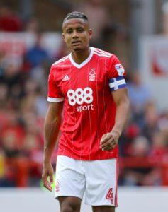 Nottingham Forest defender Michael Mancienne has signed for MLS side New England Revolution.