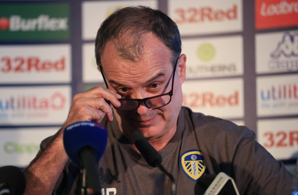Leeds United boss Marcelo Bielsa has claimed it is far too early to be talking about promotion despite a strong start.