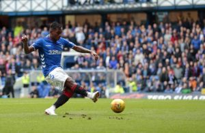 Ten-man Rangers avoided a repeat of their Pittodrie slip-up as they eased to a 2-0 win over St Mirren at Ibrox.