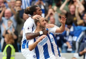 Brighton manager Chris Hughton feels veteran striker Glenn Murray is showing no signs of slowing down despite now nearly being 35.