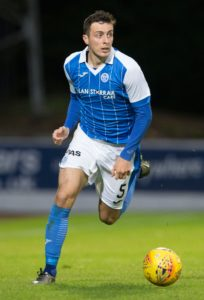 St Johnstone defender Joe Shaughnessy is out to prove the doubters wrong and lead the Perth side back into the top six.