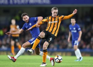 Hull midfielder Jackson Irvine is a major doubt to face Derby as the Tigers turn their attentions back to picking up points in the Sky Bet Championship.